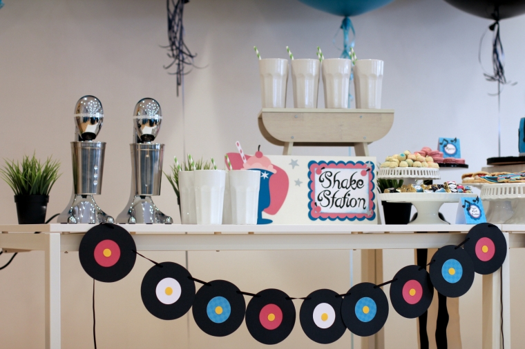 Live Shake Station - Shake, Rattle and Rock Baby Shower for Axel