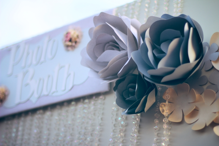 Flores de Papel Hechas a Mano para tus Eventos